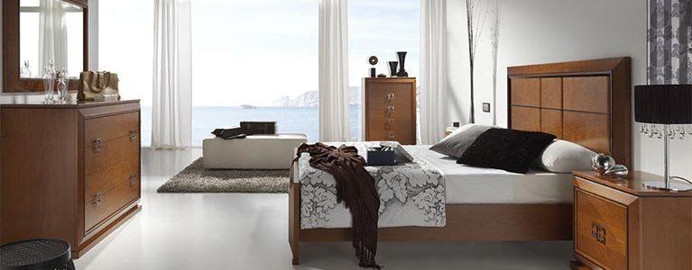 Cama-para-dormitorios-Mar-CABEZAL TABLERO CEREZO