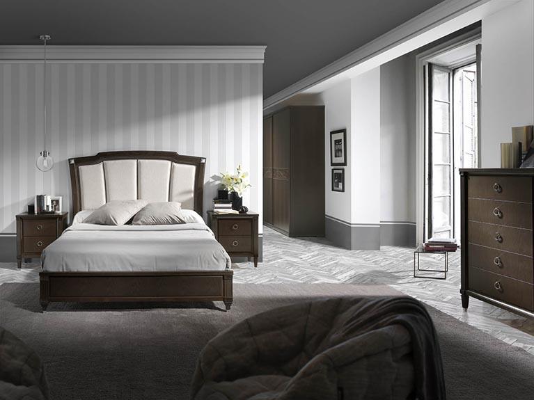Muebles monrabal chirivella armario colecci n pasi n - Cabezal cama tapizado ...