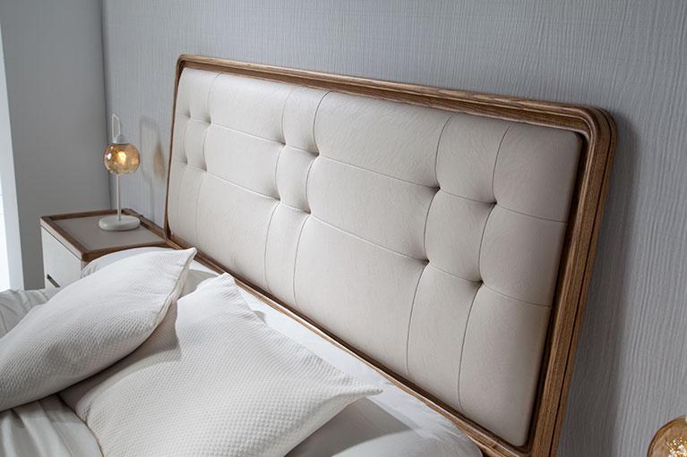 Muebles monrabal chirivella camas valentina dise o y - Cabezal cama tapizado ...