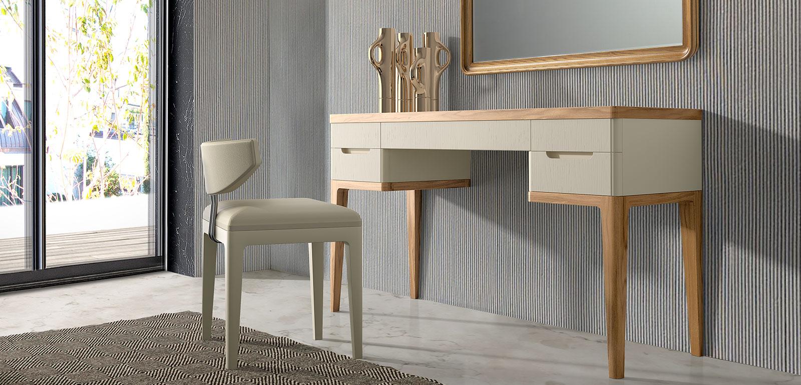 Muebles monrabal chirivella banqueta colecci n valentina for Mobiliario de dormitorio