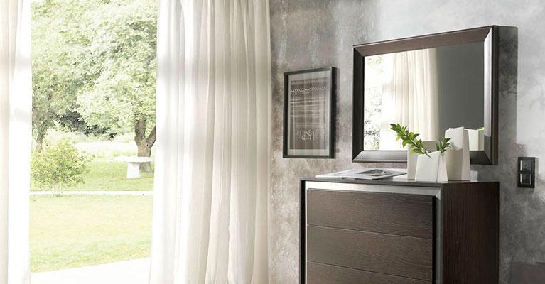 Muebles monrabal chirivella espejos colecci n alba - Espejos para dormitorios ...