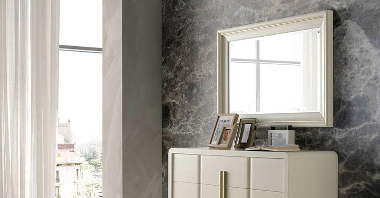 Muebles monrabal chirivella espejos colecci n olivia for Espejos grandes para cuartos