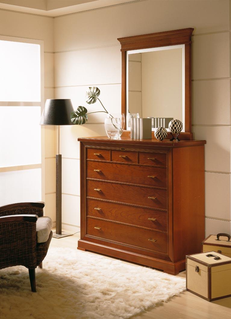 Muebles monrabal chirivella espejo colecci n marion - Muebles cajoneras comodas ...