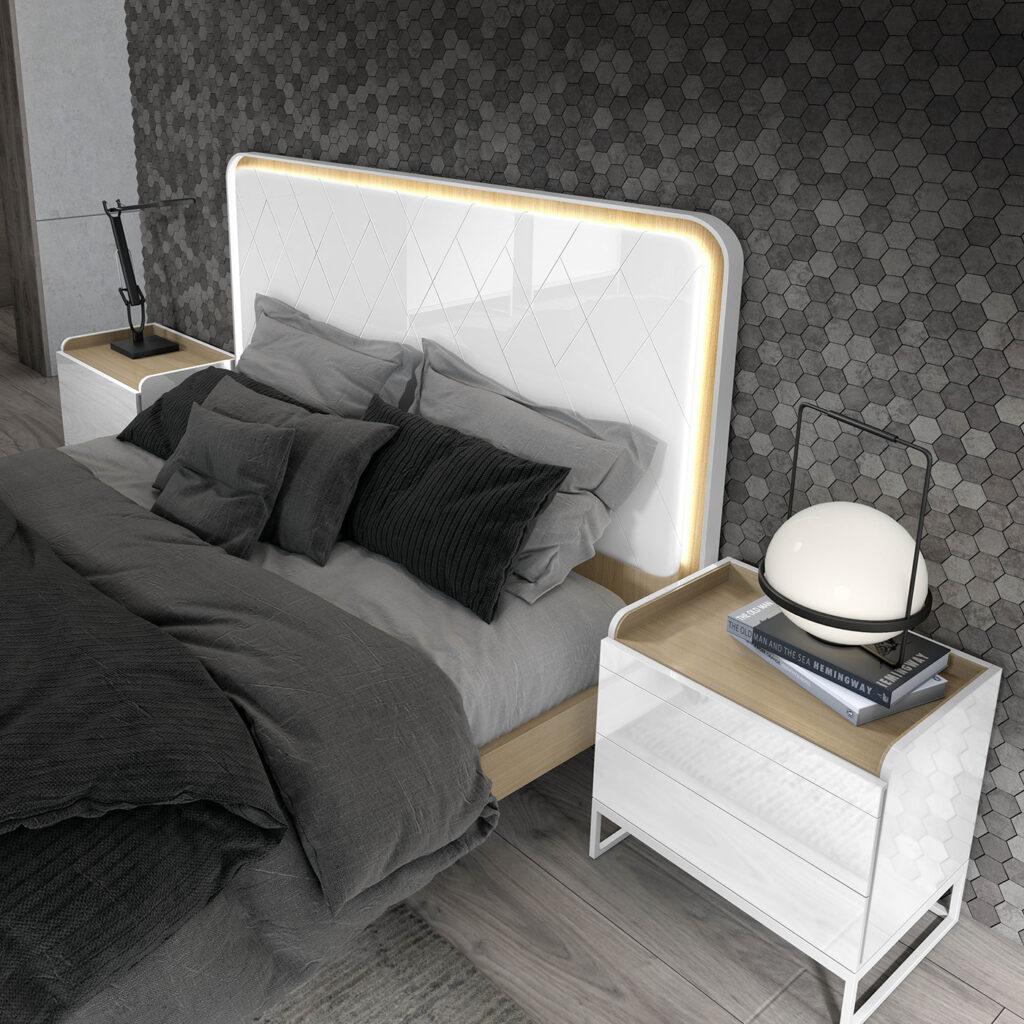muebles de habitación de matrimonio